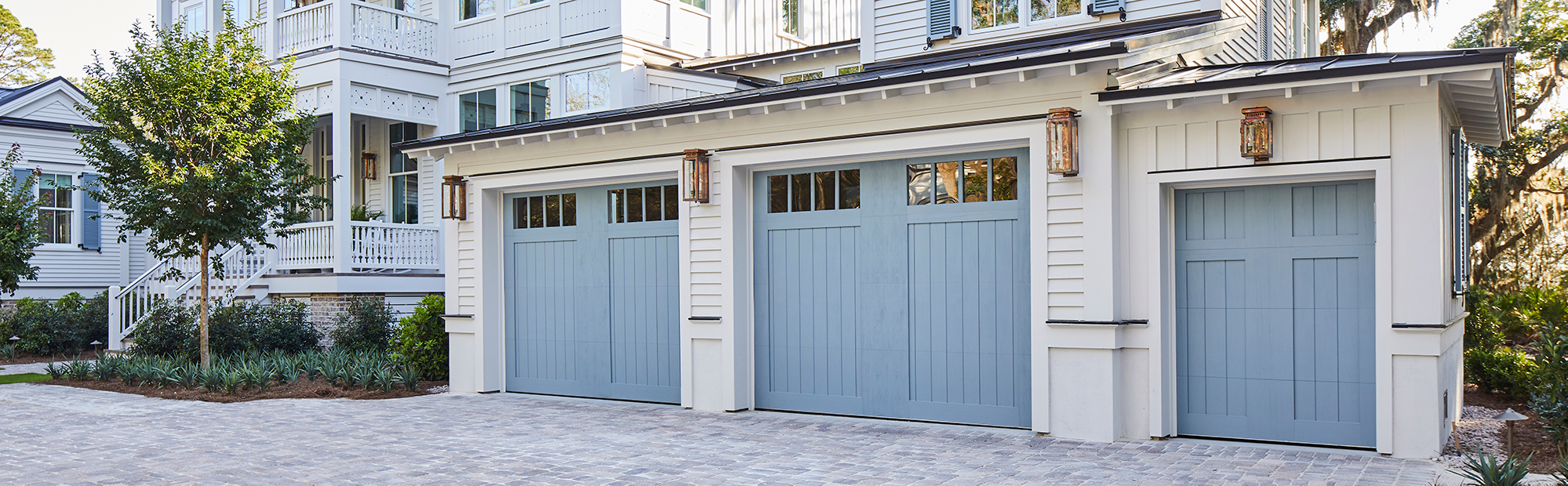 Custom Wood Carriage House Doors
